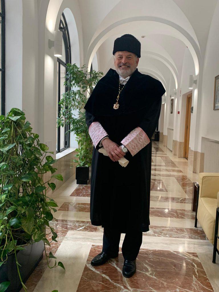 El Catedrático Rafael Sánchez Saus nombrado Rector Honorario de la Universidad San Pablo- CEU