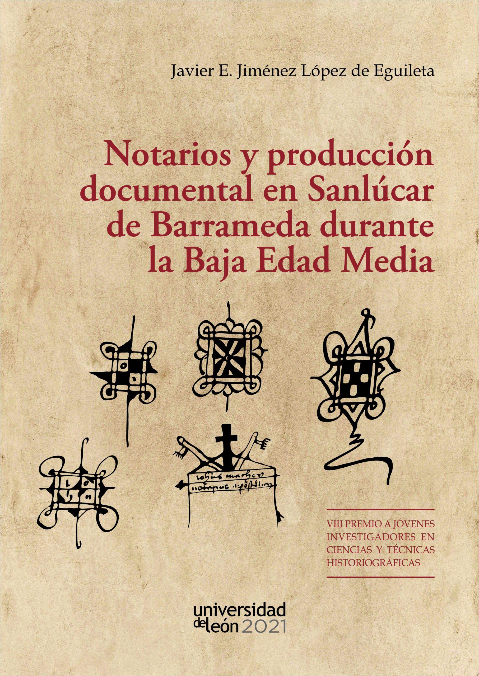 Publicación de libro del profesor Javier E. Jiménez López de Eguileta: Notarios y producción docu...