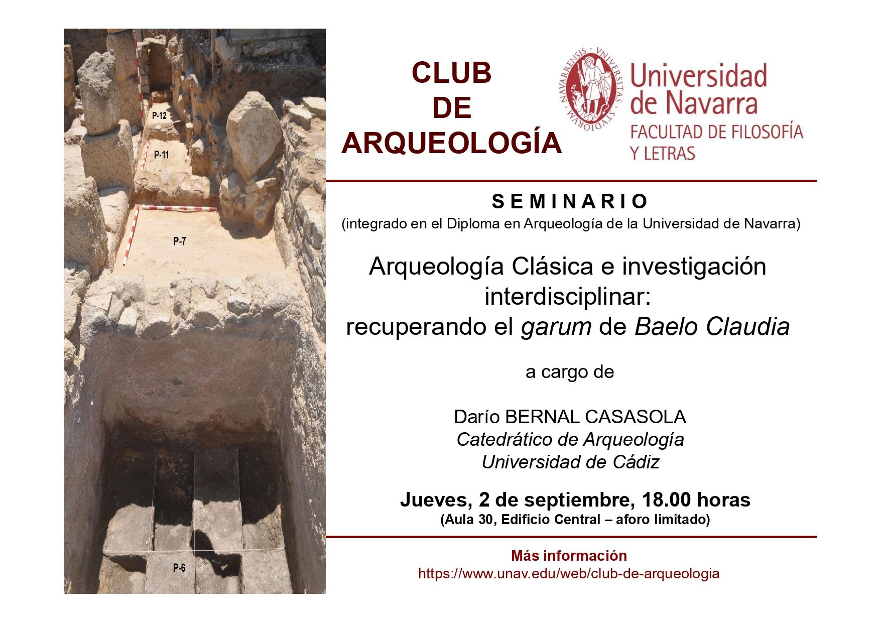 CONFERENCIA DEL PROFESOR DARÍO BERNAL CASASOLA